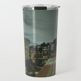 Kathmandu City Roof Top 003 Travel Mug