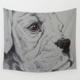 maisy - biro on paper Wall Tapestry