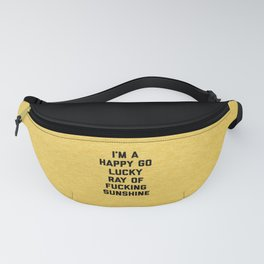Ray Of Fucking Sunshine Funny Quote Fanny Pack