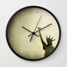 Understanding Liberty  Wall Clock