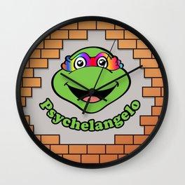 Teenage Mutant Ninja Turtles - Psychelangelo - The Lost Ninja Turtle Wall Clock