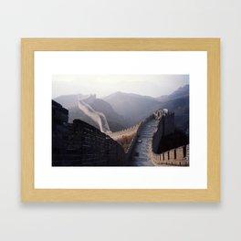 Great Wall Framed Art Print