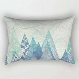 Mountain Crash Rectangular Pillow