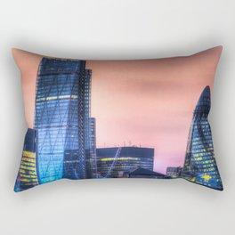 London afterglow Rectangular Pillow