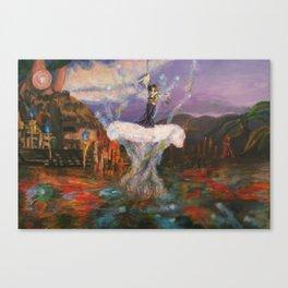The sending Canvas Print