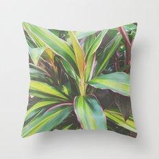 Foliage II Throw Pillow