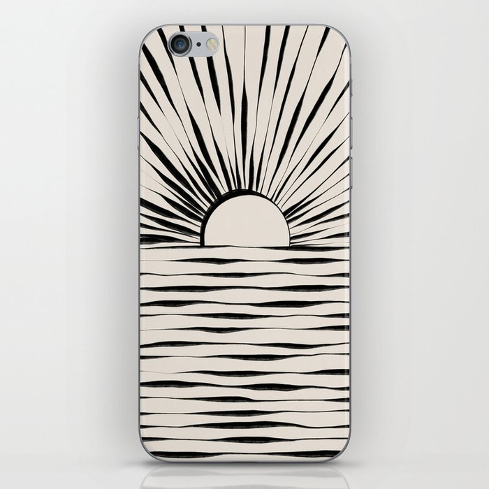 Minimal Sunrise / Sunset iPhone Skin