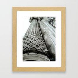 Istanbul Column Framed Art Print