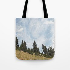 Mountain Flowers in the Sun Tote Bag