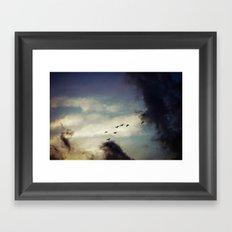 For Love of Sky Framed Art Print