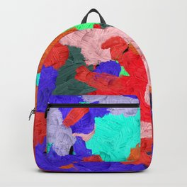 1 | Abstract Expressionism| 210210| Digital Abstract Art Textured Oil Painting Backpack