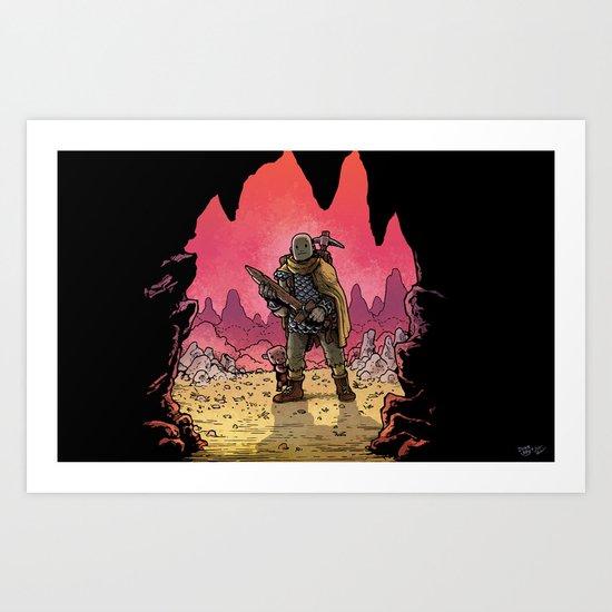 WonderCraft - Guest Artist: JunkBoy Art Print