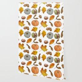 Autumnal Elements Wallpaper