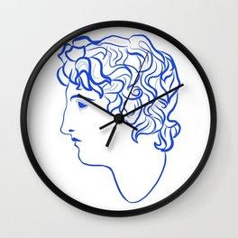 Ancient profile Wall Clock