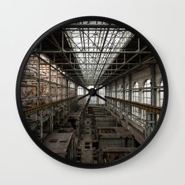 The Chelsea Monster, abandoned power station Wall Clock