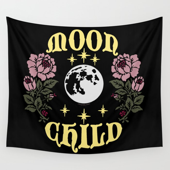 Moon Child Original By Moon Goddess Market Wall Tapestry