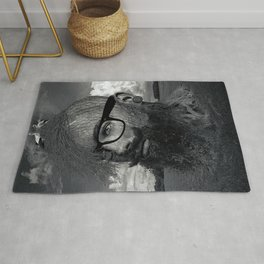 Eco Hipster Black and White Rug