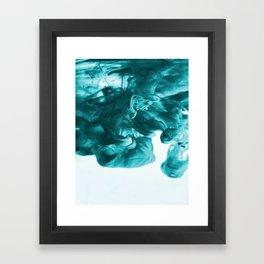 Cayan Ink Framed Art Print