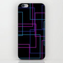 Neon Squares Pt.2 iPhone Skin