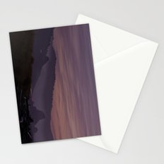 Gold Beach Sunset Stationery Cards
