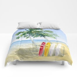 Tropical View Comforters