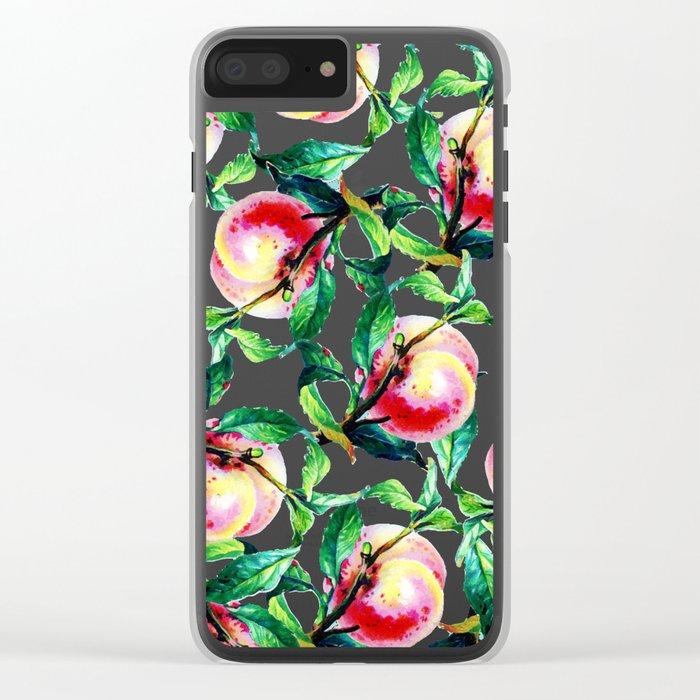 Peachy #society6 #decor #buyart Clear iPhone Case