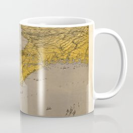 Vintage Map of Florida Coffee Mug