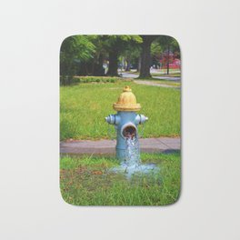 Fire Hydrant Gushing Water Bath Mat