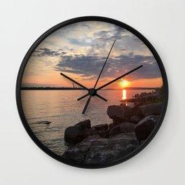 Painted Sky 2 Wall Clock