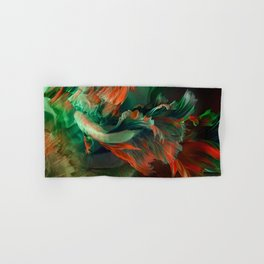 """Betta splendens Deep water (Siam fighter)"" Hand & Bath Towel"