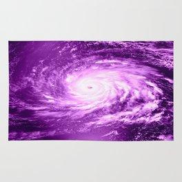 purple Hurricane Rug