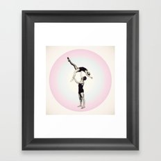 Trust Circle Framed Art Print