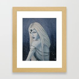 Snow Witch Framed Art Print