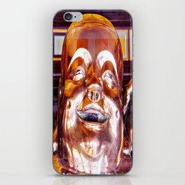 Shiny, Happy Buddha  iPhone Skin