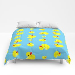 Rubber Duck Pattern Comforters