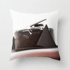 chocolate mouse Throw Pillow