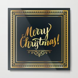 Merry christmas #society6 Metal Print