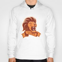 lions Hoodies featuring Lions Gryffindor by Fresco Umbiatore