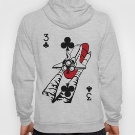 Curator Deck: The 3 of Clubs Hoody