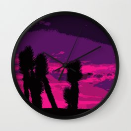 Joshua Sunset Wall Clock