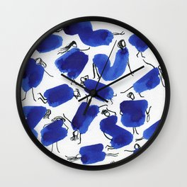 It is a girl's world Wall Clock