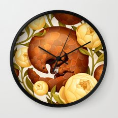 PROSPERITY IN BLOOM Wall Clock