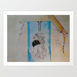 agua y color Art Print