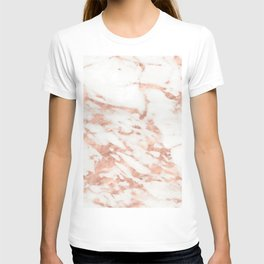 Taggia rose gold marble T-shirt