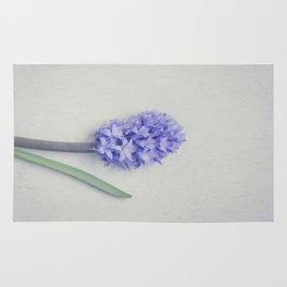 Lovely Bright Lilac Hyacinth Rug