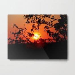 Escarpment Sunset Metal Print