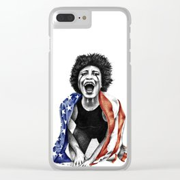 Give me liberty or give me death. Clear iPhone Case