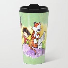 Calvin and Hobbes - Hamilton Travel Mug