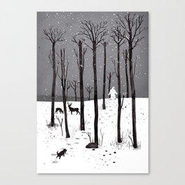 Mister Yeti's Great Escape Canvas Print