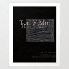 Tori Y Moi Poster Art Print